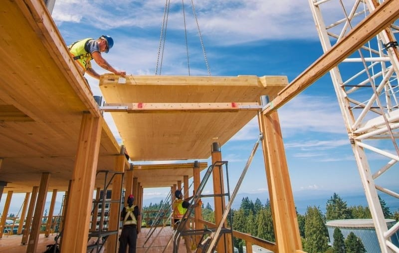 Building Methods For Heavy Timber Constuction