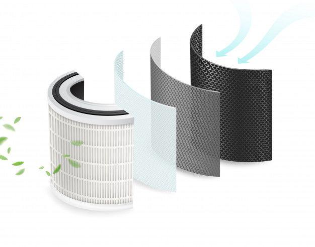 air filter with uv light